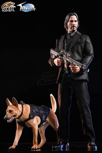 1/6 Scale Malinois Figure (4 Versions) by JXK
