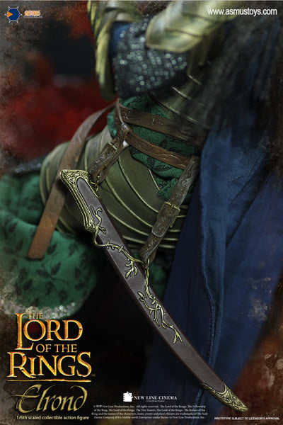 1/6 Scale The Lord of the Rings - Elrond Figure by Asmus Toys