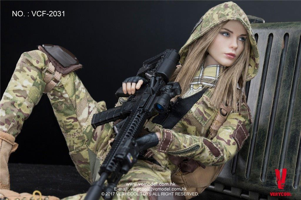 1 6 scale mc villa camouflage soldier by verycool one sixth outfitters