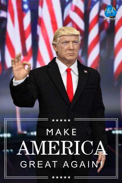 1/6 Scale Donald Trump 45th President of the United States Figure by DID