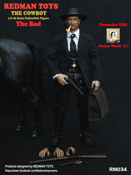 1/6 Scale The Bad Figure by Redman Toys