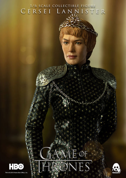 1/6 Scale Game of Thrones Cersei Lannister Figure by Threezero
