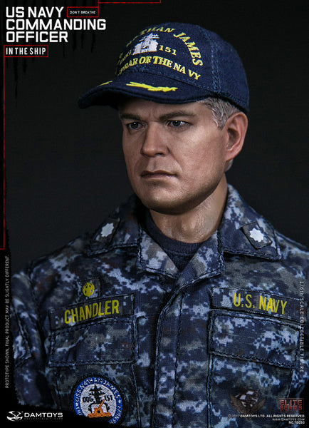 1/6 Scale U.S Navy Commanding Officer Figure by DamToys