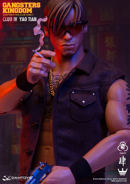 1/6 Scale Gangsters Kingdom - YaoTian Figure by DamToys