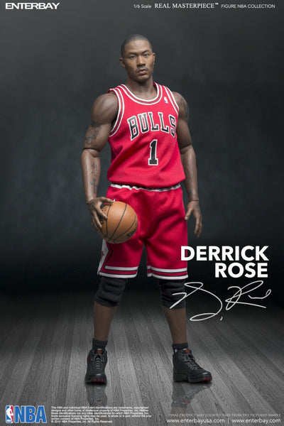 1/6 Scale Derrick Rose NBA Chicago Bulls Figure by Enterbay
