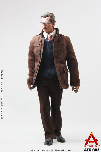 1/6 Scale Cop Commissioner Outfit by AC Play