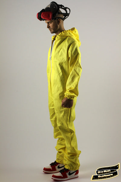 1/6 Scale Custom Exclusive Chemical Hazmat Suit (Worn In Version) by One Sixth Outfitters
