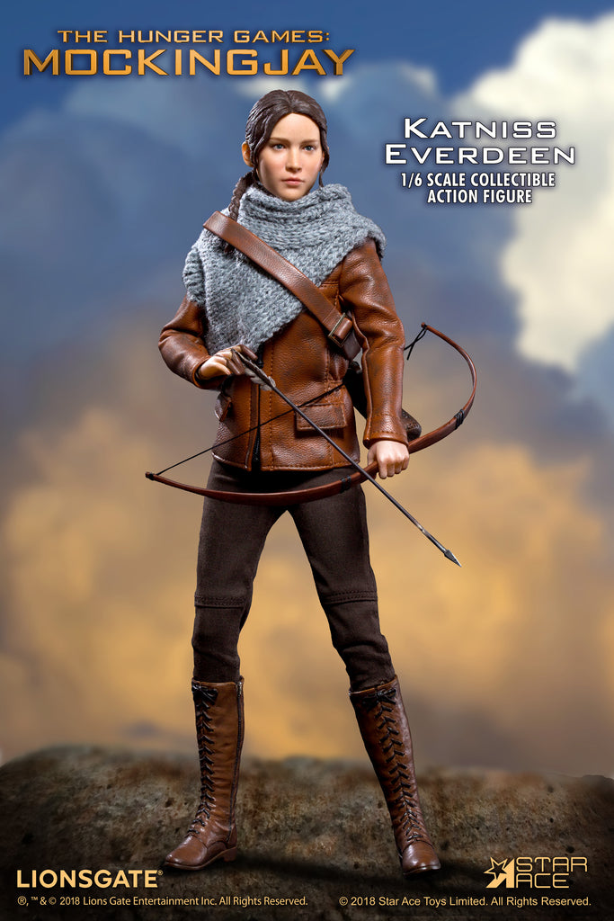 1 6 Scale The Hunger Games Mockingjay Katniss Everdeen Figure