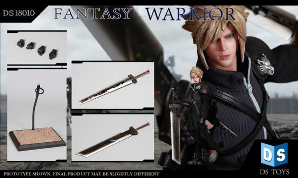 1/6 Scale FF7 AC Fantasy Warrior Figure by DS Toys