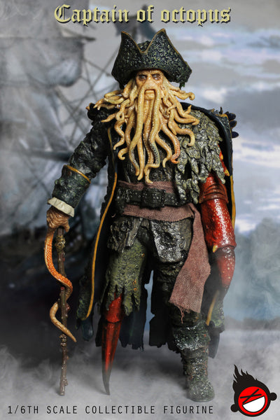 1/6 Scale Octopus Captain by XD Toys