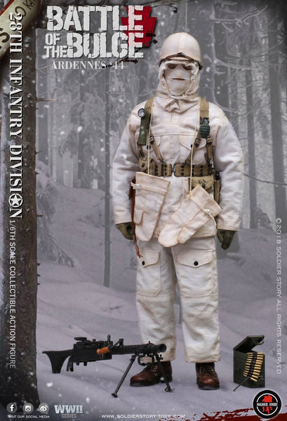 1/6 scale U.S. Army 28th Infantry Division Ardennes 1944 Figure by Soldier Story