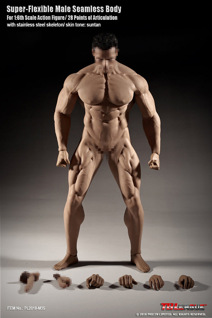 16 Scale M35 Super Flexible Male Seamless Body By Tbleague One