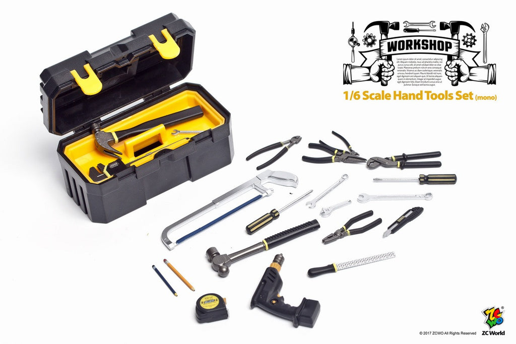 1/6 Scale Tool Box Set by ZC World