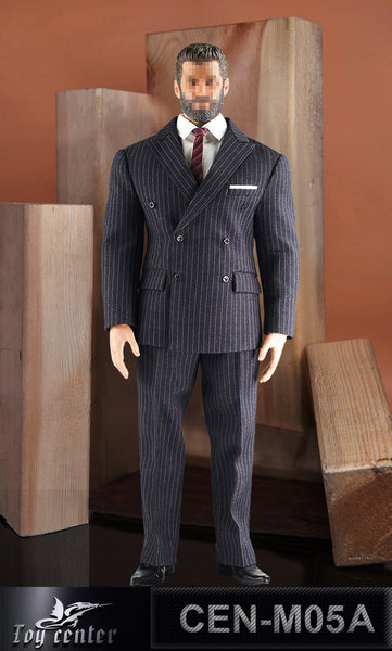 1/6 Scale M34 Mens Stripe Suit (3 Colors) by Toy Center