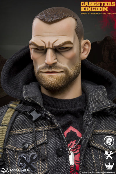 1/6 Scale Gangsters Kingdom - Spades J's Memory Greg Figure by DamToys