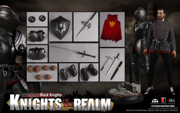 1/6 Scale Knights of the Realm - Black Knight (SHCC) Figure by COO Model