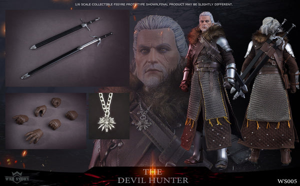 1/6 Scale The Devil Hunter Figure by War Story