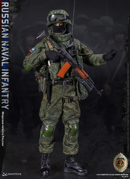 1/6 Scale Russian Naval Infantry Figure by DamToys