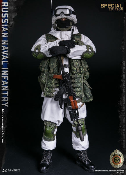 1/6 Scale Russian Naval Infantry Figure (Special Edition) by DamToys