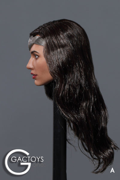 1/6 Scale Gal Head Sculpt by GACTOYS
