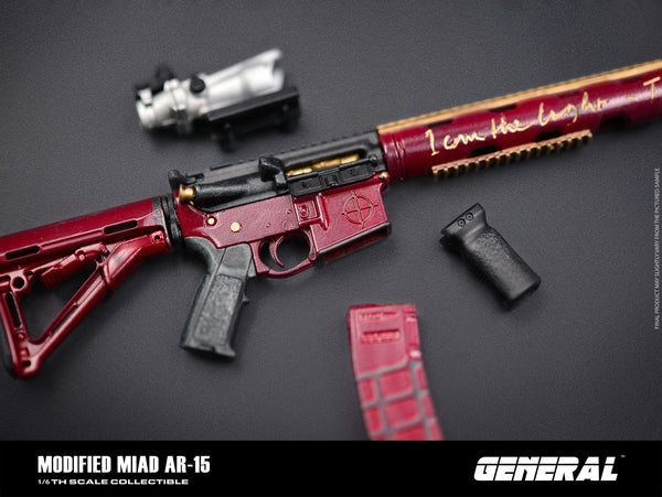 1/6 Scale Modified Miad AR-15 by General