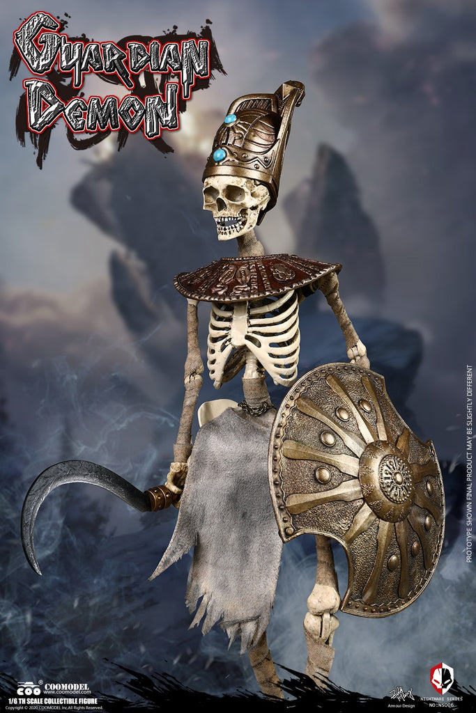 1/6 Scale Egypt Guardian Demon Figure by COO Model