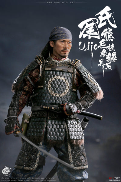 1/6 Scale Brave Samurai UJIO Figure (Standard Version) by Pop Toys