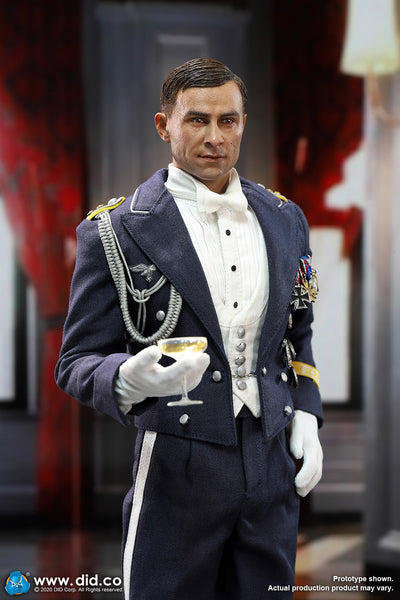 1/6 Scale WWII German Luftwaffe Captain – Willi Figure by DID