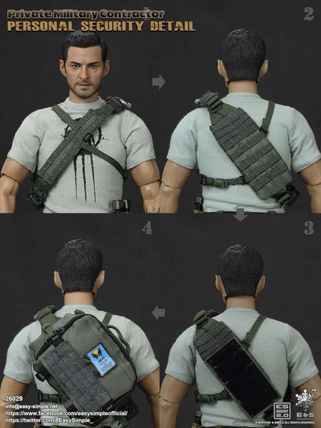 1/6 Scale PMC Personal Security Figure by Easy&Simple