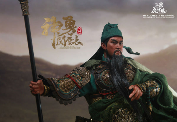 1/6 Scale Guan Yunchang Figure (Deluxe Version) by In Flames Toys x Newsoul Toys