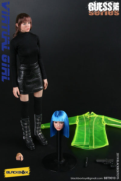1/6 Scale Virtual Girl JOI Head Sculpt & Clothing Set by Blackbox Toys