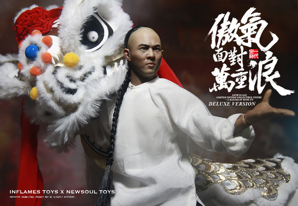 1/6 Scale Master of Kung Fu Figure (Deluxe) by In Flames Toys X Newsoul Toys