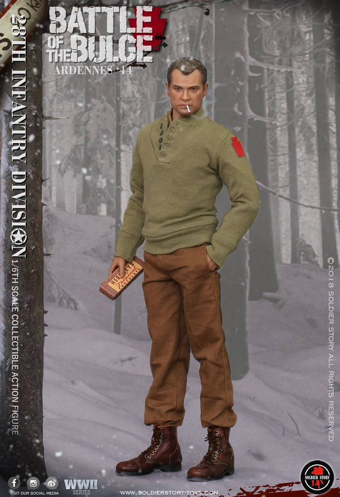 1/6 scale U S  Army 28th Infantry Division Ardennes 1944 Figure (SS111) by  Soldier Story