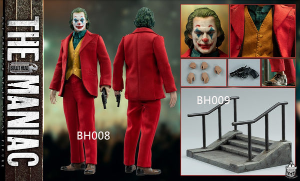 1/12 Scale The Maniac Figure (Deluxe Version) by Bullet Head