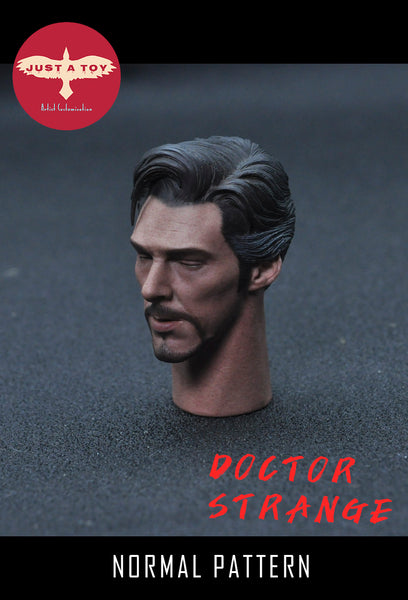 1/6 Scale Doctor Strange Head Sculpt (Normal Version) by Just A Toy
