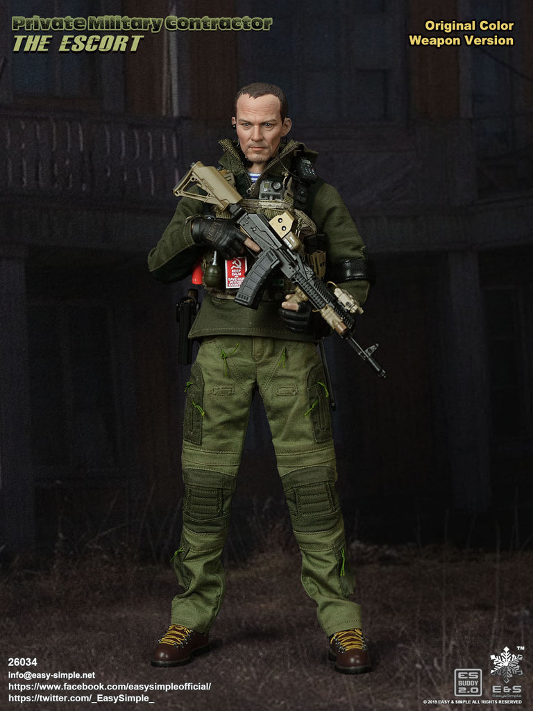 1/6 Scale Private Military Contractor - The Escort Figure by Easy&Simple