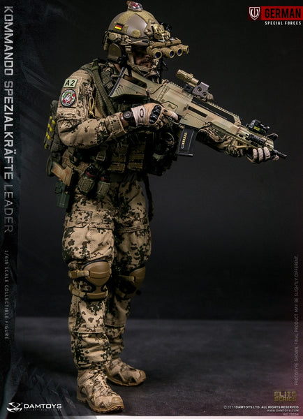 1/6 Scale KSK Kommando Spezialkräfte Leader Figure by DamToys