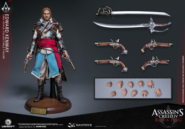 1/6 Scale Assassin's Creed IV: Black Flag Edward Kenway Figure by DamToys