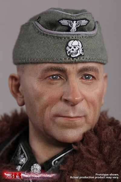 "1/6 Scale WW2 Waffen - SS ""Das Reich"" Commander - Paul Hausser Figure by 3R"