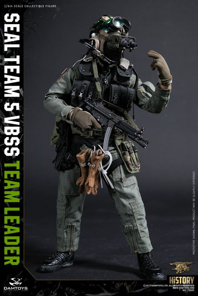 1/6 Scale Seal Team 5 VBSS Team Leader - Navy SEAL Figure by DamToys