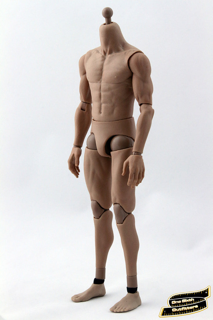 16 Scale Asian Muscular Body One Sixth Outfitters