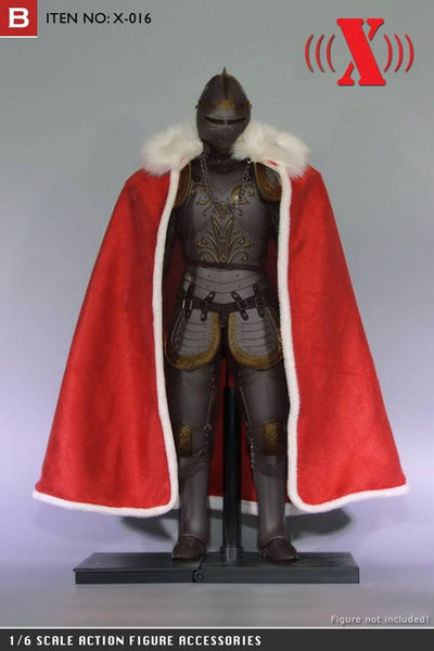 1/6 Scale Faux Fur Trimmed Cloak (3 Colors) by XToys