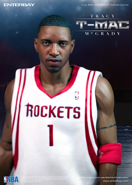 1/6 Scale Tracy McGrady NBA Houston Rockets Figure by Enterbay