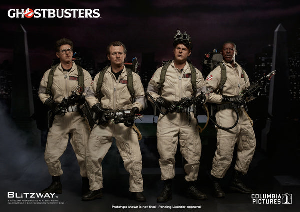 1/6 Scale Ghostbusters 1984 Special 4 Pack Figures by Blitzway