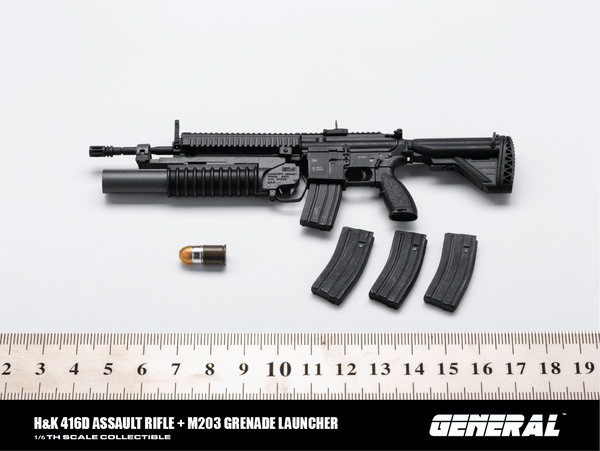 1/6 Scale H&K 416D Assault Rifle by General