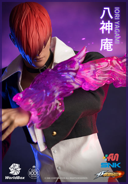 1/6 Scale The King Of Fighters - Iori Yagami Figure (Deluxe Edition) by WorldBox