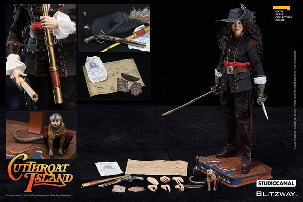 1/6 Scale Cutthroat Island - Morgan Adams Figure by Blitzway