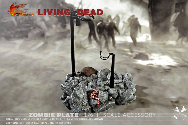 1/6 Scale Zombie Diorama Base by Hot Heart