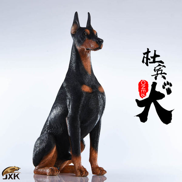 1/6 Scale Doberman Pinscher (2 Colors) by JXK