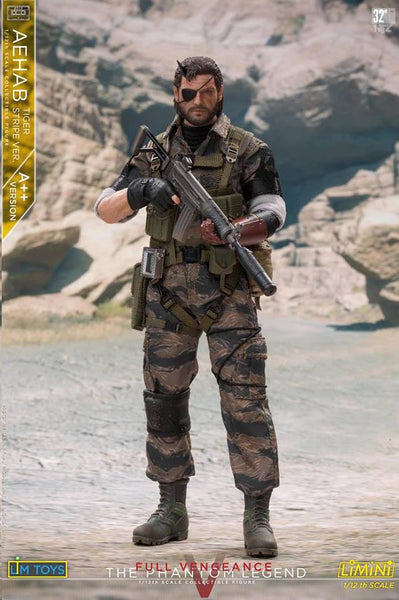 1/12 Scale Aehab Tiger Stripe Figure (A++ Version) by LIMTOYS LiMiNi